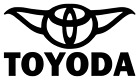 TOYODA Decal, Sticker, Toyota Star wars JDM Funny Decal for Car, Window, Outdoor $2.49 USD on eBay
