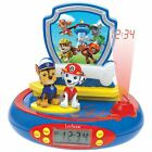 PAW PATROL RADIO ALARM CLOCK PROJECTOR KIDS OFFICIAL NEW