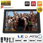 Freeview 1080P HDMI HD 14'' Portable TV Digital Television Player PVR/USB DC/AC