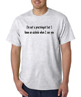 Unique T-shirt Gildan I'm Not A Proctologist But Know An A-hole See one Mean