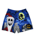 The Nightmare Before Christmas Blue & Black Men's Boxer Shorts S,M,L,XL