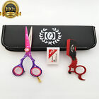 Hair Shears Cutting Scissors Thinning Shears Professional Barber Salon Razor And $32.19 USD on eBay