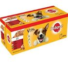 MIXED CHUNKS IN JELLY - 100g (x12 / x40) - Pedigree Pouches Dog Food bp Pet Meal
