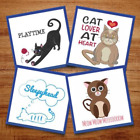 Cat Lover At Heart - 9 Machine Embroidery Designs