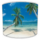 Lampshades Ideal To Match Tropical Beaches Duvets Covers & Palm Trees Cushions
