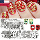 BORN PRETTY Nail Art Stamping Plates Image Stamp Templates Manicure Design Decor