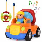 Cartoon Radio Remote Control Racing Car Toy Kids Toddlers New Year Xmas Gift