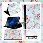 Leather Stand Cover Case For Samsung Galaxy Tab 3/4 /A A6 7&quot; 10.1&quot;/ E 9.6&quot;/ S2 <br/> UK Seller, Free Fast Shipping . Free Stylus