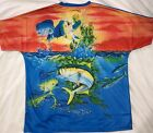 YELLOWTAIL AND MAHI MAHI - MENS T- SHIRT  - NEW