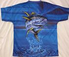 YELLOWFIN TUNA  - MENS T-SHIRT - NEW
