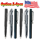 "12x 6""Aluminum Tactical Pen Glass Breaker Writing Survival Outdoor Cool Tool US"