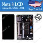 Samsung Note 8 N950 LCD Replacement Display Touch Screen Digitizer + Frame Good