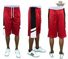MEN BIG AND TALL BASKETBALL MESH SHORTS SIZE 3XL,4XL,5XL,6XL