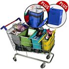 NEW Ultimate Set of 4 Shopping Trolley Bags Pastel PLUS Cooler Bag PLUS Xtra Bag