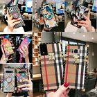 For Samsung NOTE10 9 S10 8P Square Diamond/lips Pattern Leather Case Trunk cover