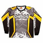 Chaos Kids Off Road Motocross Shirt Black