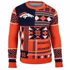 Ugly Quirky Christmas Xmas Crew Neck Sweater New with Tags Denver Broncos on eBay