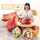 Creative Simulation Food Sushi Stuffed Doll Plush Toy Cushion Throw Pillow Gift