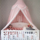 Kids Baby Bed Fantasy Canopy Bedcover Mosquito Net Curtain Bedding Dome Tent