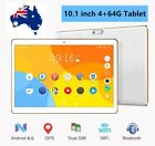 """10.1""""android 6.0 Tablet Octa Core 4+64gb Dual Sim Cards 3g Wifi Gps Bluetooth Np"""
