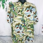 REYN SPOONER Mens Hawaiian Tropical Fish Aloha Vacation Shirt ~ NWOT