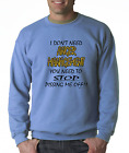 Long Sleeve T-shirt Unique I Don't Need Anger Management You need To Stop