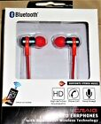 Craig  Bluetooth Wireless In-Ear Stereo Ear Buds Red or White New Free Shipping