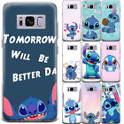 Disney Lilo & Stitch Pattern Printed Phone Case Cover For Samsung Galaxy Series