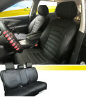 PU Leather Full 5 Seats Cushion Covers 2 Pillows to Dodge 53255 Black $69.95 USD on eBay
