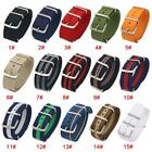 18mm 20mm 22mm Military Nylon Watch Band Strap Army Sports For 007 James Bond $8.59 AUD on eBay