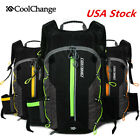 10L MTB Bike Cycling Backpack Hydration Pack Hiking Camping Water Bladder Bag US