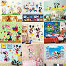Mickey Minnie Mouse Clubhouse Wall Sticker Removable Vinyl Decals Kids Room Deco