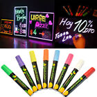 6mm Fluorescent Marker Highlighter Chalk Pen Erasable LED Blackboard WhiteBoard