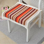 Hand Woven Chair Pad with Ties for Kitchen Dining Garden Patio Seat 45x45cm