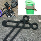 1X Bottle Buckle Silicone Elastic EDC Bicycle Flashlight Band Pant Band Strap##