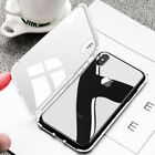 Magnetic Adsorption Metal Case Fits iPhone 8 Plus Tempered Glass Case Cover