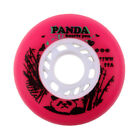 Outdoor Inline Skate Wheels Accessory Replacement Wheels High-strength Red