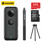 Insta360 ONE X Panoramic Video Camera Invisible Selfie Stick+Ball Time Bundle BS