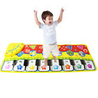 4 in 1 Baby Light Musical Gym Play Mat Lay & Play Fitness Fun Piano Boy Girl US