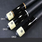 Handmade Dk Billiard Pool Cue Stick 13Mm 11.5Mm Tips Inlaid And Carved Handle