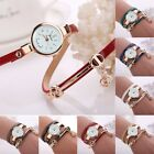 New Fashion Women's Ladies Watch Stainless Steel Leather Bracelet Wrist Watches image