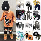 US Stock Casual Newborn Kids Baby Boy Tops T shirt Pants Trousers Outfit Clothes