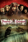 Pirates of the Caribbean At Worlds End 6 Movie Poster Canvas Picture Art A4 - A0