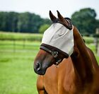 Horze Fly Mask Without Ears Pony Cob Full Summer Protect Flies Bugs Midges Horse
