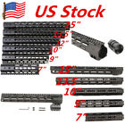 7-15inch Slim Free Float KEYMOD/M-lok Handguard picatinny rail&Nut for rilfe US