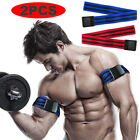 1 Pair Red Blood Flow Restriction Occlusion BFR Tourniquet Training Biceps Bands image