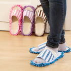 1Pair Floor Polishing Dusting Cleaning Foot Shoes Mop Slippers Lazy Quick House