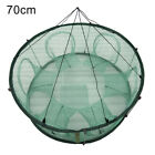 Round Shape Automatic Fishing Net Open Crab Crayfish Shrimp Lobster Trap Cage