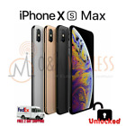 Apple iPhone XS MAX 64GB │ 256GB │512GB (A1920, Factory Unlocked) All colors