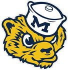 """University Of Michigan Wolverines Color Vinyl Decal - You Choose Size 2""""-28"""""""